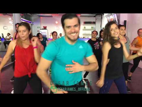 Hola - Zion & Lennox By Cesar James Zumba Cardio Extremo Cancun