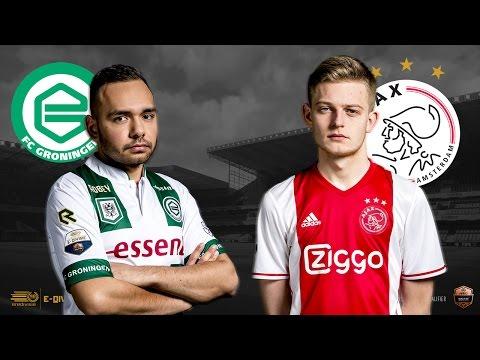 Absalom Warkor - Dani Hagebeuk | FC Groningen - Ajax | Speelronde 25 | E-Divisie
