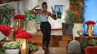 Repeat youtube video Lupita Nyong'o and Her Oscar