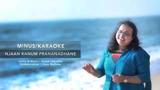 Minus/Karaoke Track | Njaan Kaanum Prananadhane | Christian Song | Vinod Charutha | Jince Mathew ©