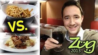 Speisenangebot im ICE – ALT vs. NEU | Bord Bistro & Restaurante | Zug2013