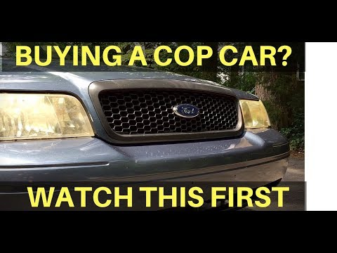 How To Buy A Crown Victoria Police Interceptor P71 Cop Car at an Auction