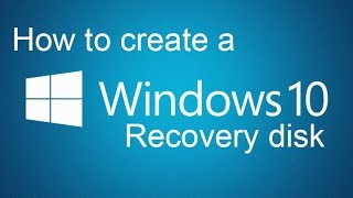 How to make a Windows 10 Recovery Drive