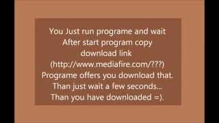 FreeRapid downloader DOWNLOAD (with label in the video)