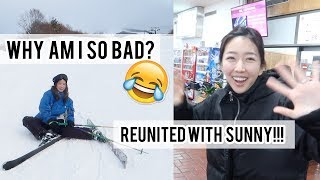 I SAW SUNNY AGAIN?! | Flying from Tokyo to Akita
