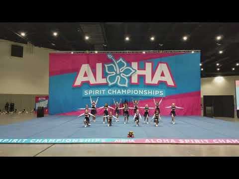Fairmont Private School Cheer Team - 2018 Aloha Spirit Championship