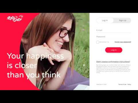 Rate Date - an online video date auction