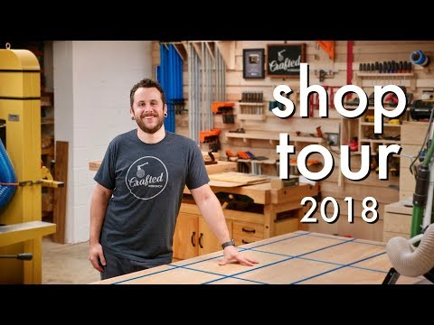 Shop Tour 2018, All of My Woodworking and Metalworking Tools!