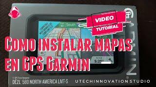 COMO INSTALAR MAPAS EN GPS GARMIN FACIL Y RAPIDO (en 5 minutos) - MIKE STUDIO screenshot 1