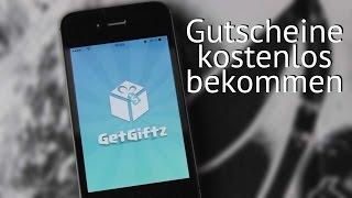 [GER] KOSTENLOSE GUTSCHEINE // GetGiftz // Review // - LucasMedia