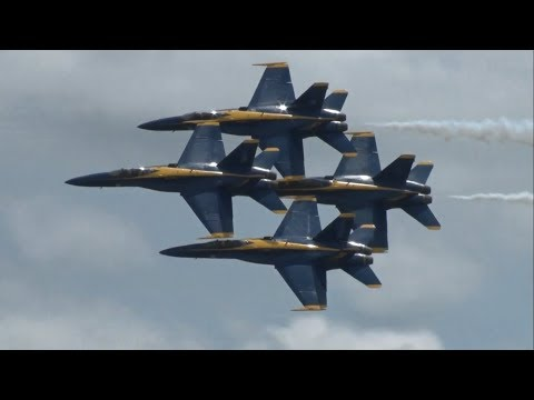 2019 Joint Base Andrews Air & Space Show - US Navy Blue Angels