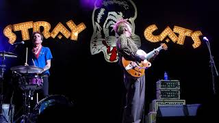 "Stray Cats performing ""Fishnet Stockings"" live at Viva Las Vegas. A..."