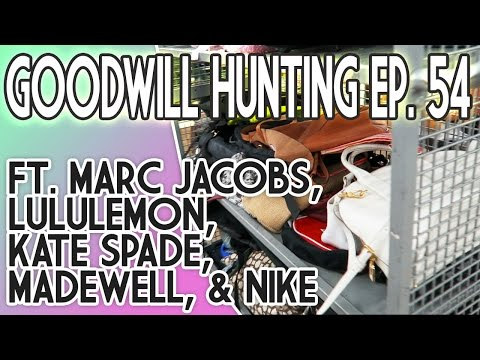 3 MARC JACOBS BAGS IN 1 STORE?! GOODWILL HUNTING EP 54 FT. L