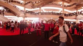 360 Video - Christmas Choir Flash Mob 2018