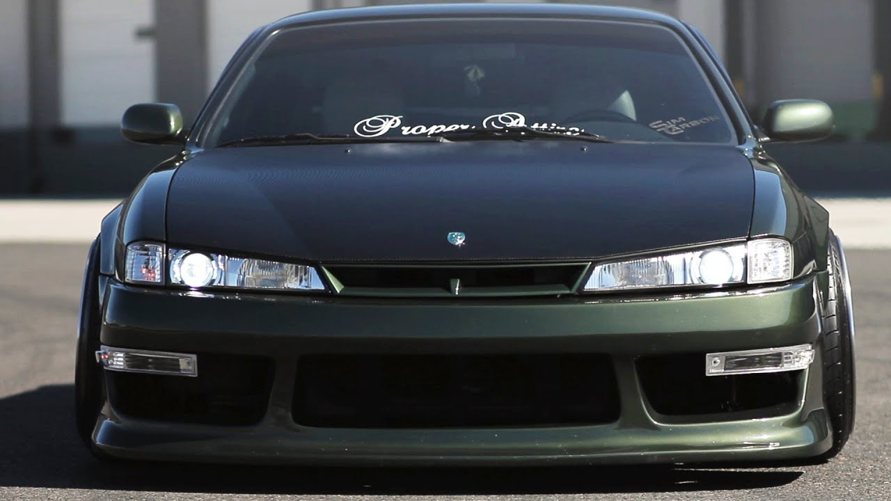 Wide N Green S14 Stancenation Youtube