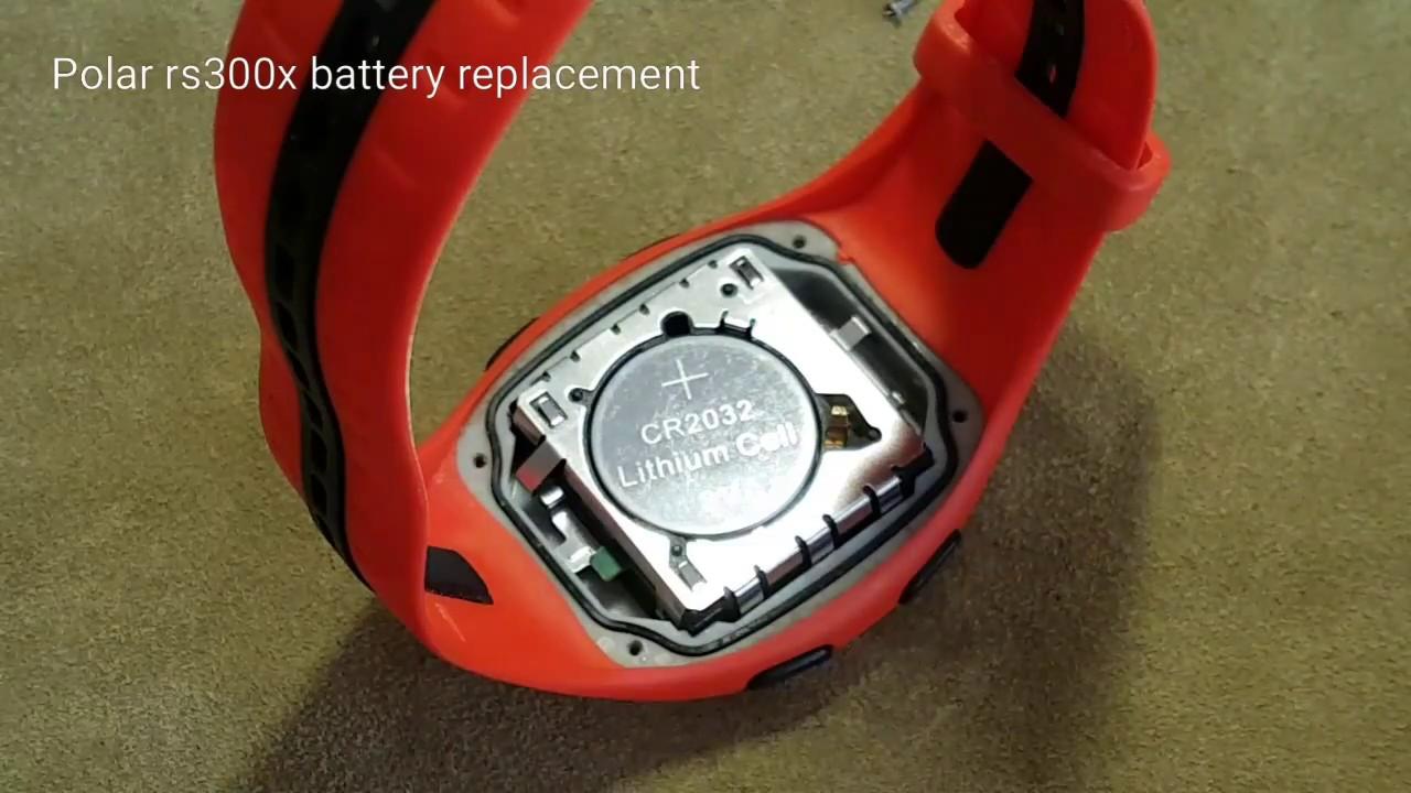 Verwonderend Polar rs300x elem csere / battery replacement - YouTube ER-26