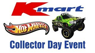 Kmart Hot Wheels Collector Day Event - It