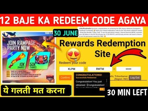 Free Fire Redeem Code 1st July 2021 Get Ff Rewards For Indian Server Singapore Europe Reward Ff Garena Com
