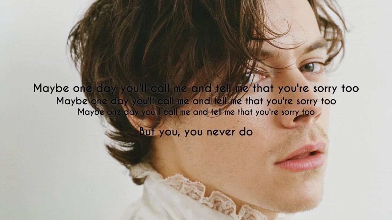 Harry Styles  From the Dining Table Audio LYRICS ON SCREEN  YouTube