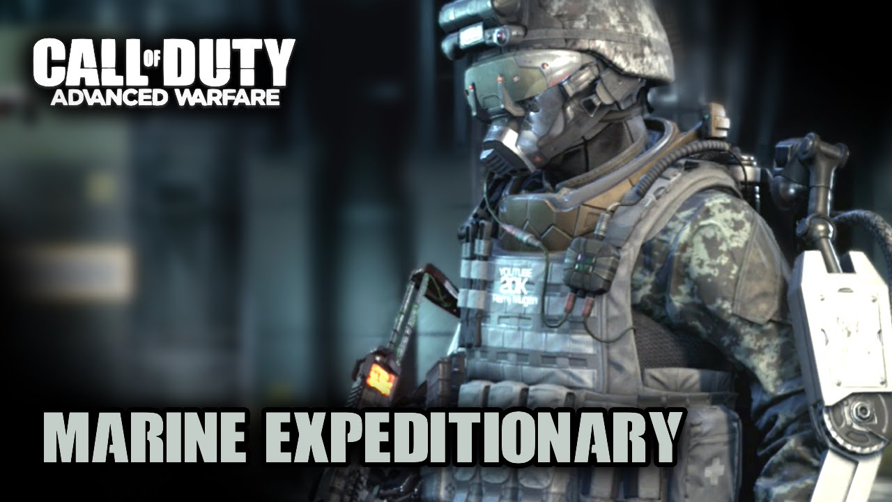 Expeditionary complete outfit showcase advanced warfare youtube