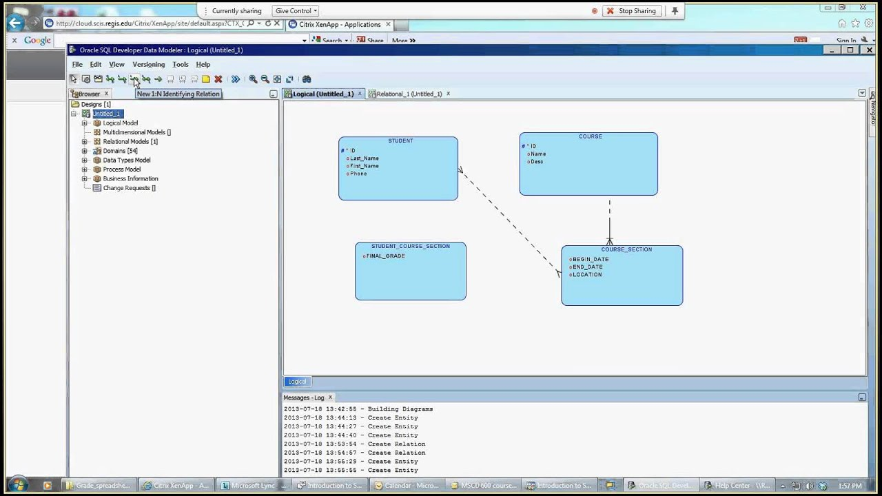 Introduction to SQL Developer Data Modeler  YouTube