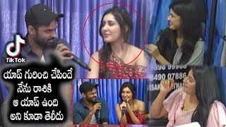 Sai Dharam Tej Fun With Rashi Tiktok Special ChitChat I Silver Screen