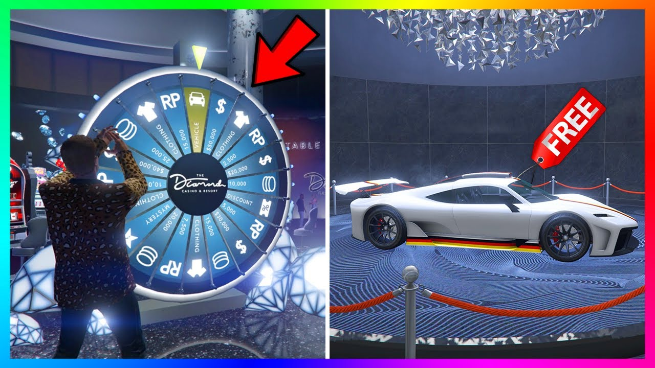 How To Win The Lucky Wheel Podium Car Every Single Time In Gta 5 Online New Method 100 Works Youtube