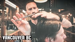 Victory Barber & Brand Gastown - Gentleman's Contour with Low Taper in the Back