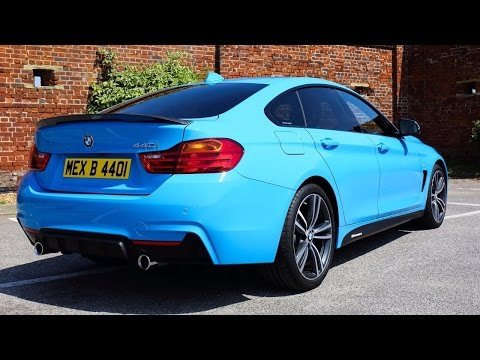 BMW 4 Series Gran Coupe 440i Individual Mexico Blue - Start Up, Revs & Tour!