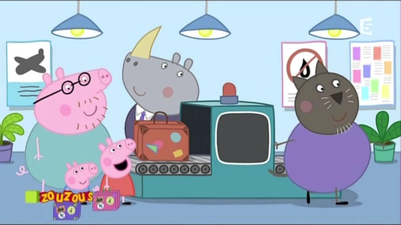 Peppa Pig SPECIAL VACANCES (7 dessins animés) - YouTube