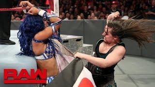 Sasha Banks vs. Nikki Cross: Raw, Sept. 23, 2019
