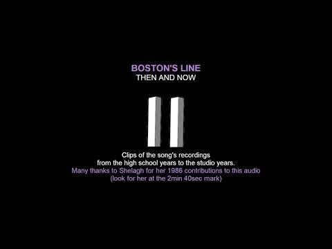 Boston's Line: then and now