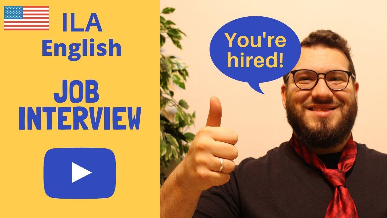 English Conversation Practice - Job Interview - YouTube