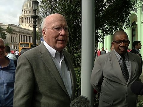 Sen. Leahy Leads Delegation of US Dems to Cuba