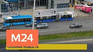 Из-за обрыва сети движение троллейбусов на Ленинградском проспекте остановилось - Москва 24