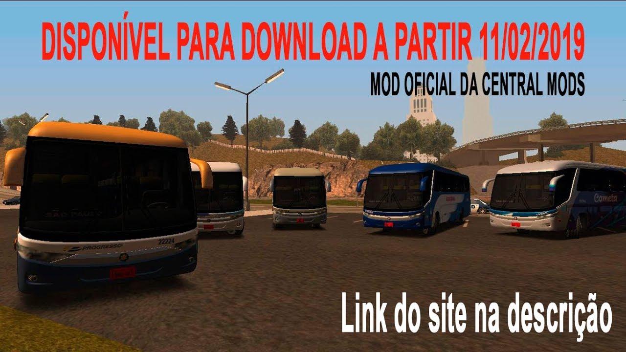 Central Mods: [GTA SA] - Marcopolo Paradiso G7 - Leve