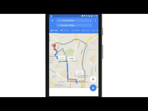 Getting Directions with Google Maps Android