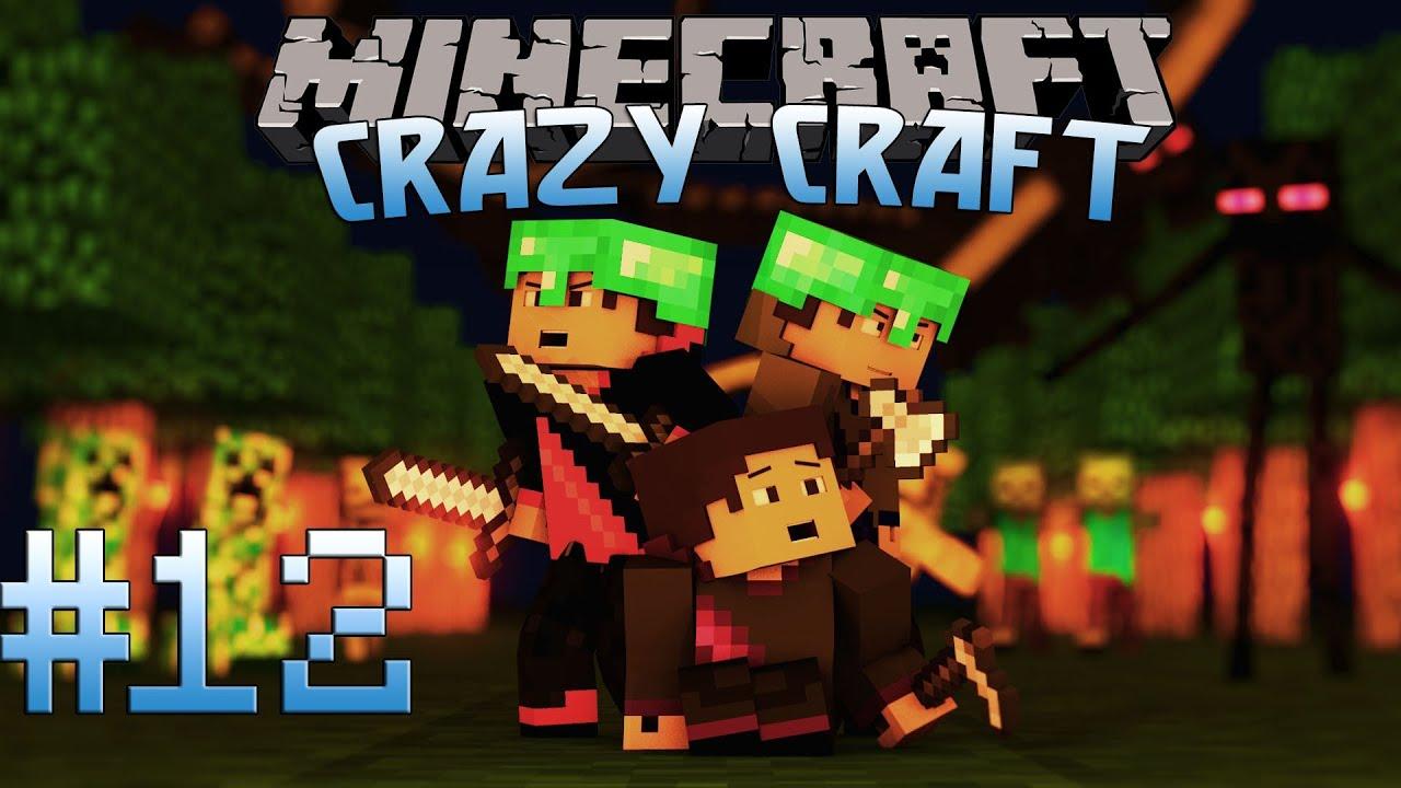 Minecraft: Crazy Craft Adventure! Episode 12 - First ...