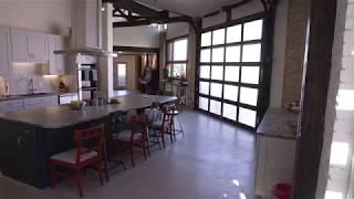Glass Garage Door Home Renovation