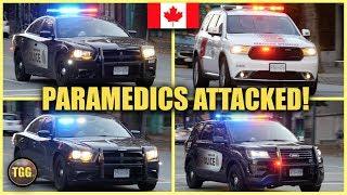 Violent Patient! Paramedics Need Urgent Assistance! [Vancouver, Canada]