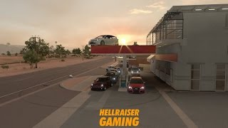 forza horizon 3 hatchback car show rwd vs fwd vs awd train drags minigames and more