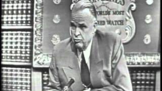 LONGINES CHRONOSCOPE WITH ROBERT S. KERR