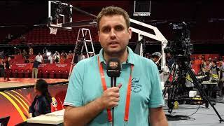 Darko Plavšić iz Pekinga Posle Meča Francuska - Argentina   SPORT KLUB Košarka
