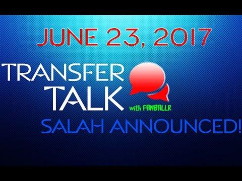 🎙️ TransferTalk: Salah Announced!