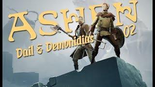Zagrajmy w ASHEN - Nowy Soulslike? CO-OP /w Demonidias (02) Pierwszy Boss!