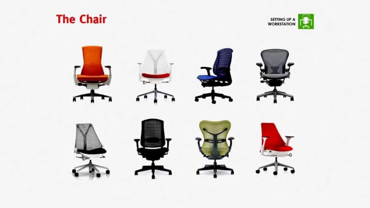 Video ergonomia come regolare la sedia youtube - Ergonomia sedia ...