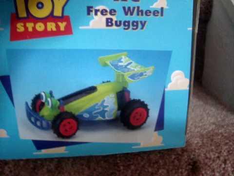 Original 1995 Disney's Toy Story RC Free Wheel Buggy - YouTube