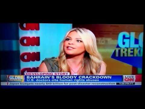 Amber Lyon Report On Bahrain CNN - تقرير أمبر ليون عن البحرين سي ان ان