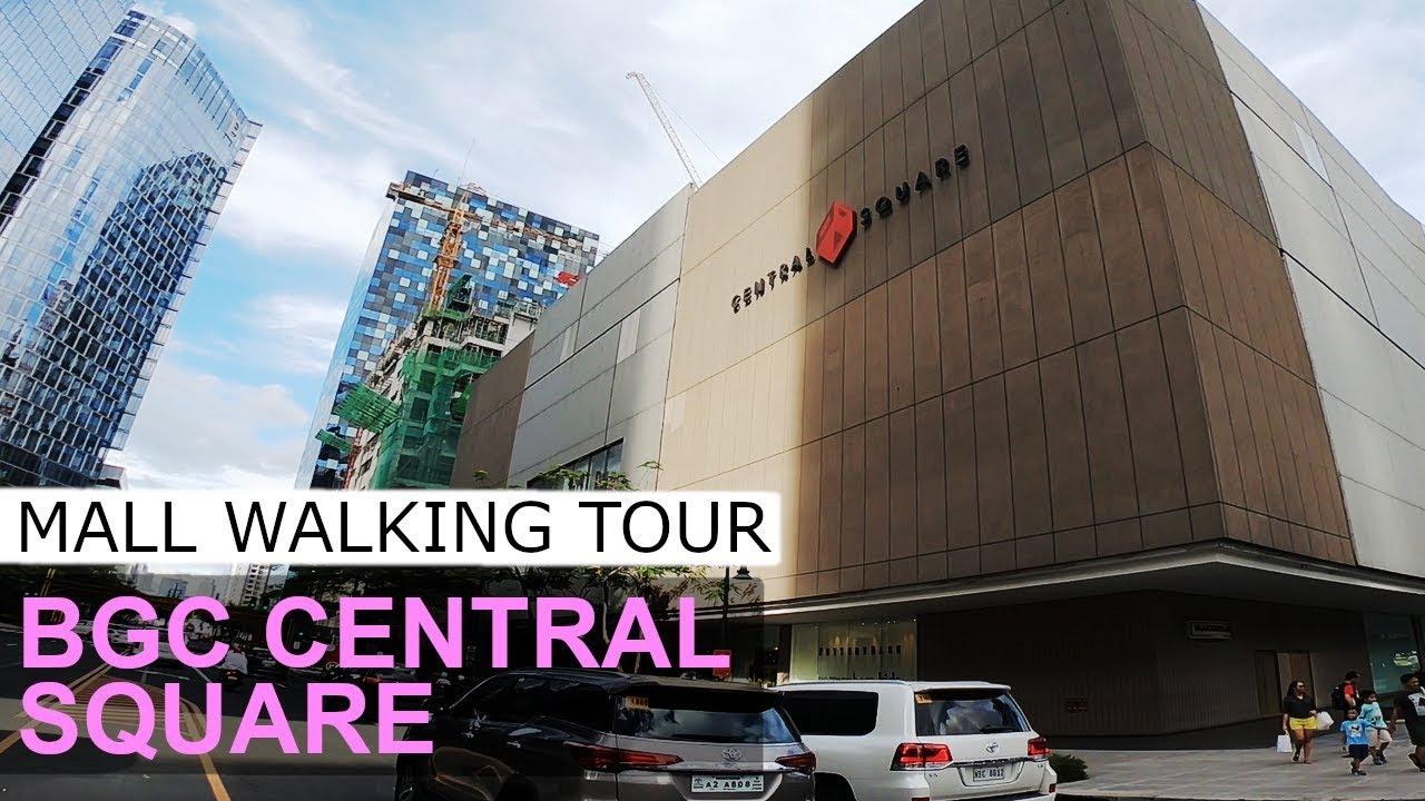 Bonifacio High Street Central Square BGC Philippines