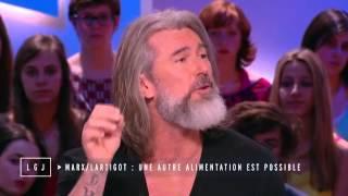 Gilles Lartigot alimentation grand journal canal + 23_12_2014 auteur du livre EAT